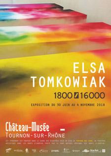 ELSA TOMKOWIAK. 1800/16000. Exposition du 30 juin au 4 novembre 2018.