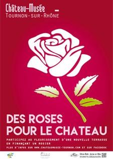 DES ROSES POUR LE CHATEAU