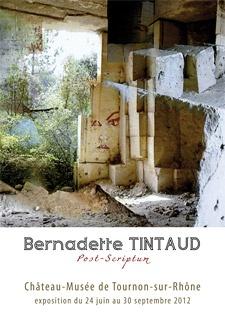 BERNADETTE TINTAUD - POST SCRIPTUM